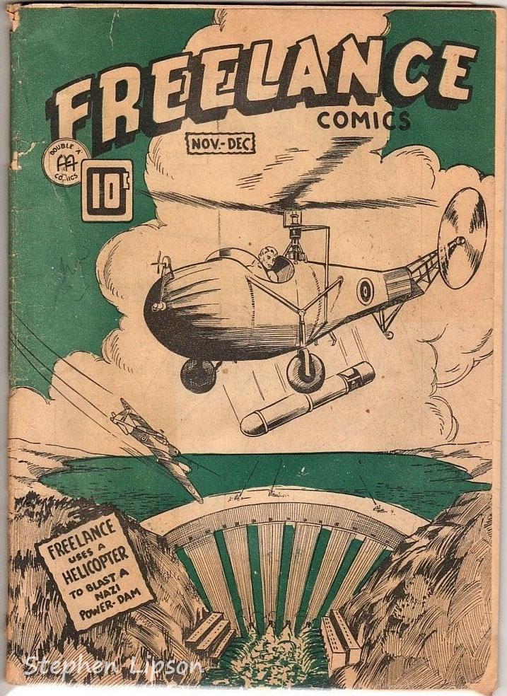 Freelance Comics v2 #5