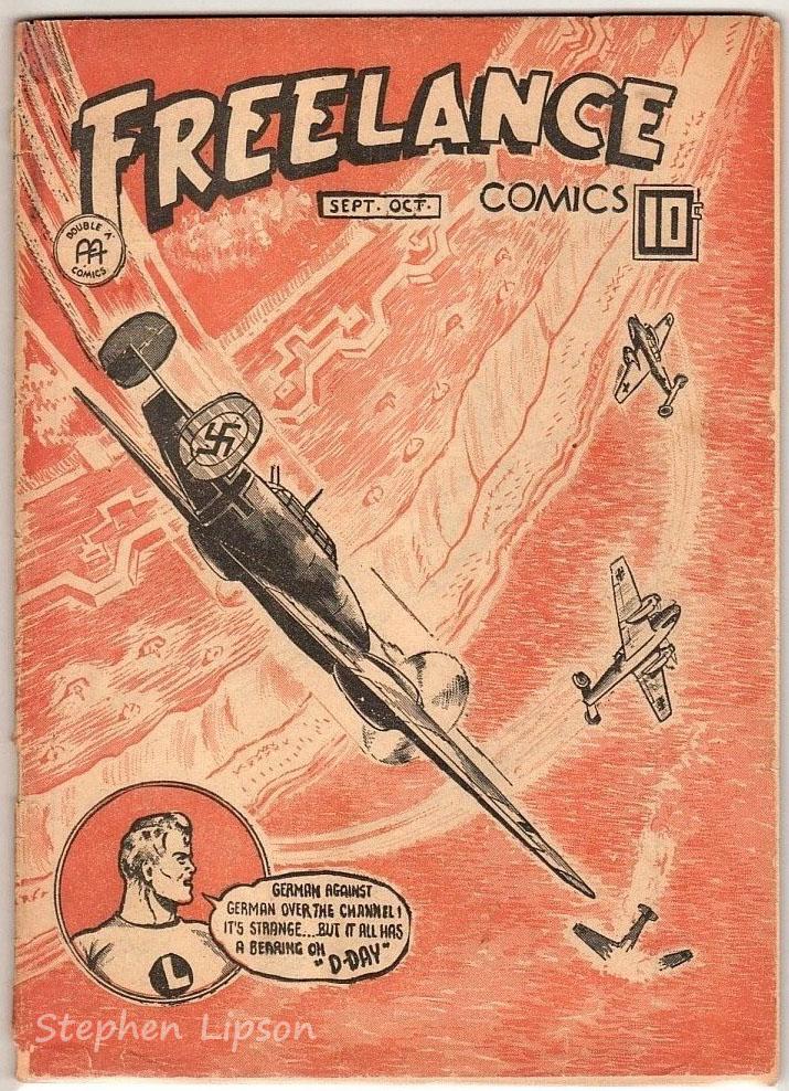 Freelance Comics v2 #10