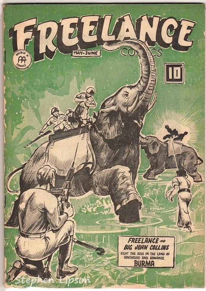 Freelance Comics v2 #8