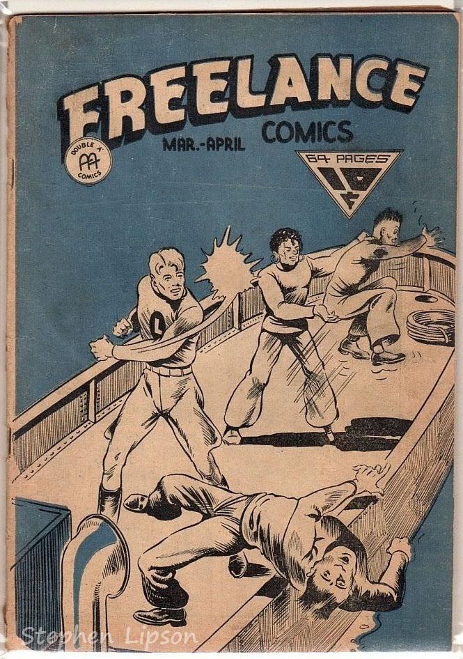 Freelance Comics v2 #1