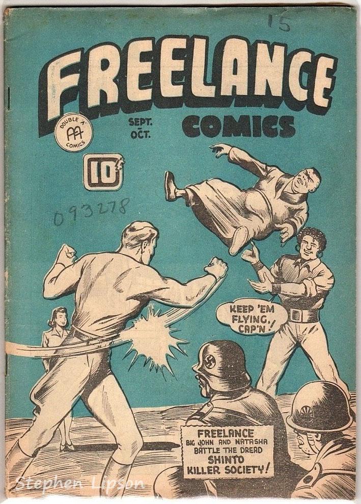 Freelance Comics v2 #4