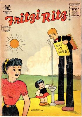 Fritzi Ritz #45. Click for values.