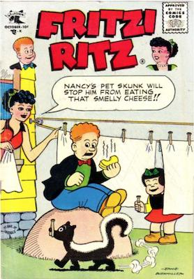 Fritzi Ritz #47. Click for values.