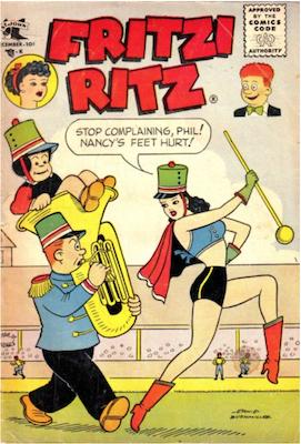 Fritzi Ritz #49. Click for values.