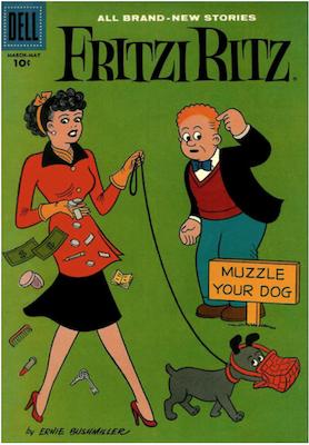 Fritzi Ritz #57. Click for values.