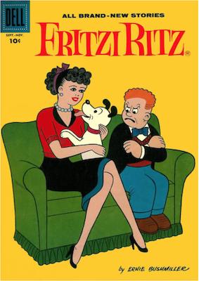 Fritzi Ritz #59. Click for values.