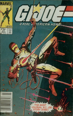 G. I. Joe #21 (1984): First Appearance of Storm Shadow; So-called