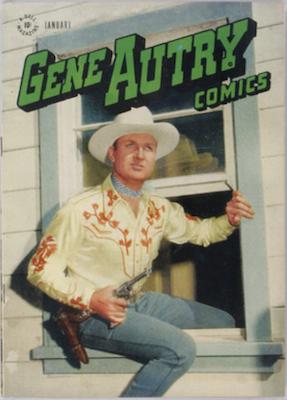 Gene Autry Comics #11 (1948), Dell Comics. Click for values