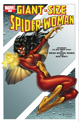 Giant-Size Spider-Woman #1: Reprints key Spider Woman comics including Marvel Spotlight #32. Click for values