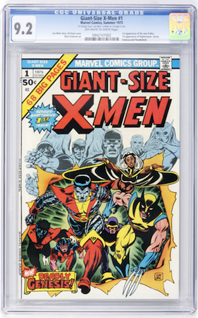 Giant-Size X-Men #1 in CGC 9.2 is much nicer, and has better potential ROI.