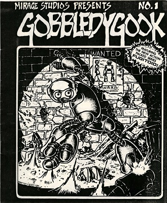 Gobbldygook #1 (1984): Rare Eastman and Laird Book, Photocopied and Stapled; Forgeries are Common. Click for value