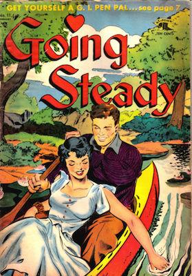 Going Steady #11, Matt Baker cover. Click for values