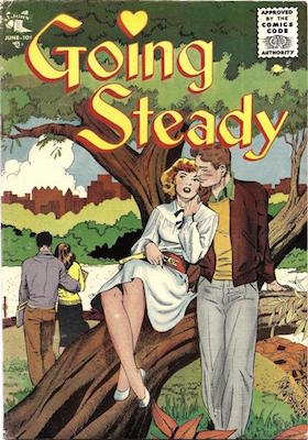 Going Steady #13, Baker cover art. Click for values