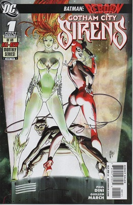 Gotham City Sirens #1. Click for values