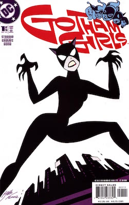 Gotham Girls #1: Classic Animated Catwoman Comic Cover