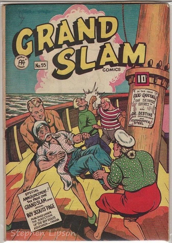 Grand Slam Comics issue #55
