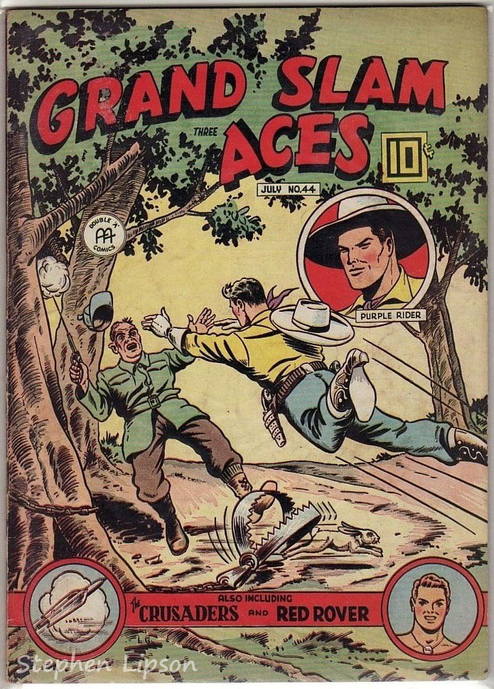 Grand Slam Three Aces Comics issue #44