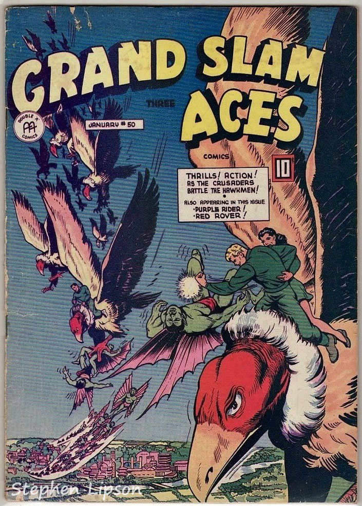 Grand Slam Three Aces Comics issue #50