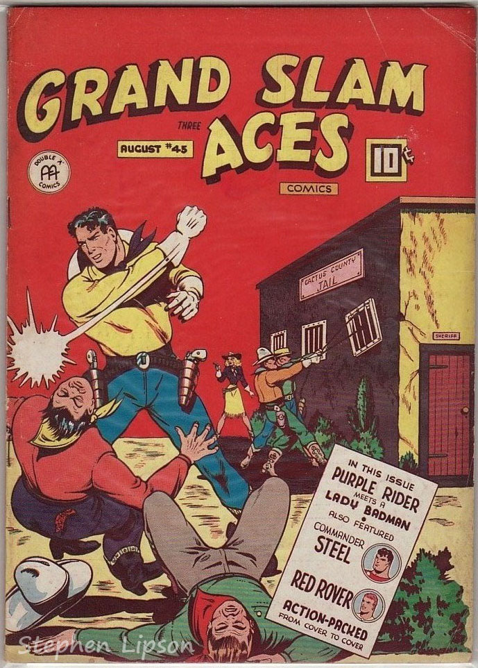 Grand Slam Three Aces Comics issue #45