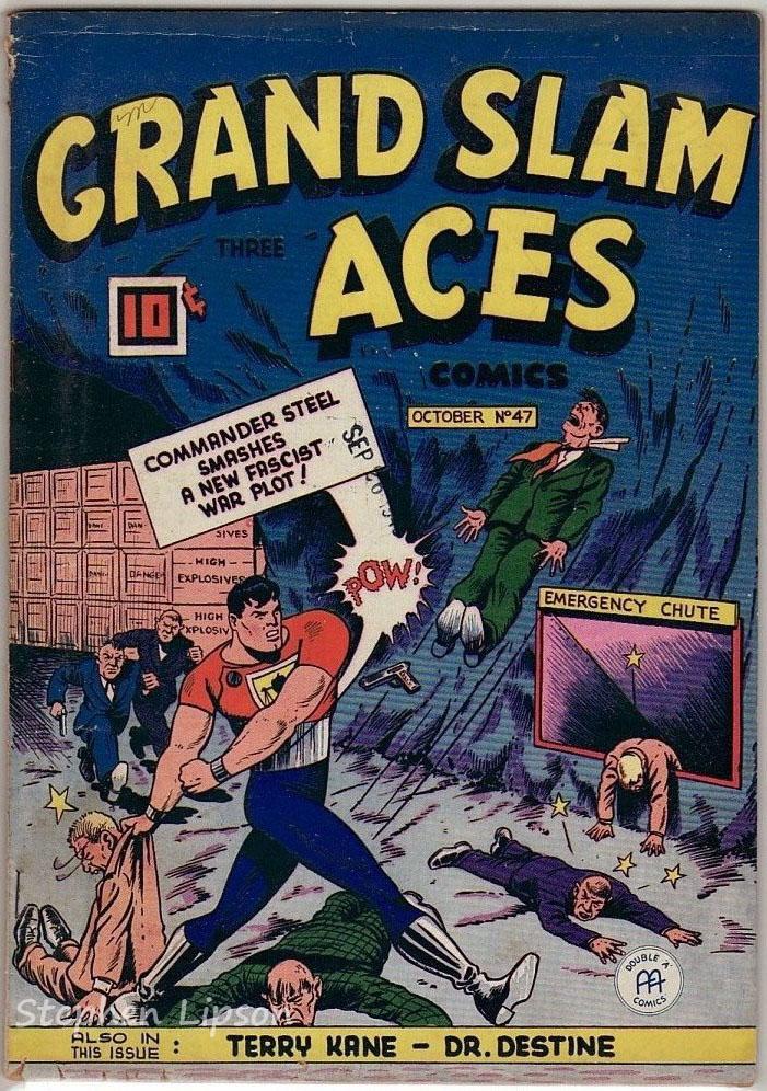 Grand Slam Three Aces Comics issue #47