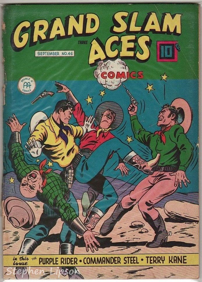 Grand Slam Three Aces Comics issue #46