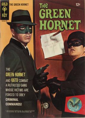 Green Hornet #1 (1967), Gold Key comics. Click for values