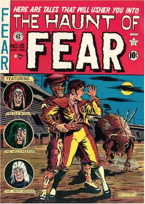 Haunt of Fear #10. Click for current values.