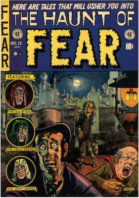 Haunt of Fear #12. Click for current values.