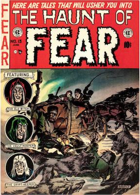 Haunt of Fear #13. Click for current values.