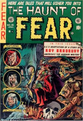 Haunt of Fear #18. Click for current values.