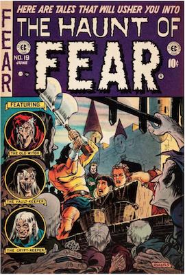 Haunt of Fear #19. Click for current values.
