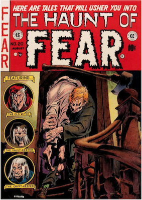 Haunt of Fear #20. Click for current values.