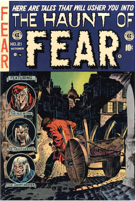 Haunt of Fear #21. Click for current values.