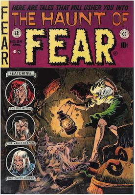 Haunt of Fear #24. Click for current values.