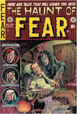 Haunt of Fear #26. Click for current values.