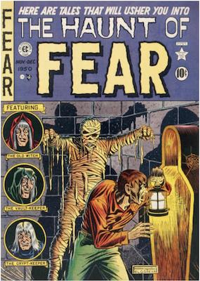 Haunt of Fear #4. Click for current values.