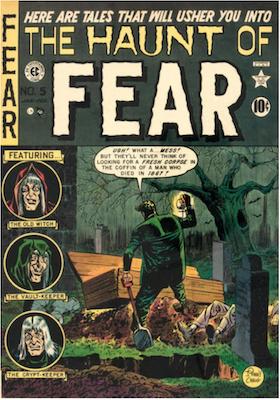 Haunt of Fear #5. Click for current values.