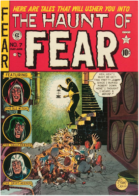 Haunt of Fear #7. Click for current values.