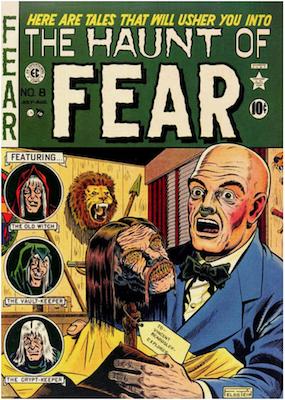 Haunt of Fear #8. Click for current values.