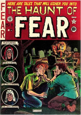 Haunt of Fear #9. Click for current values.