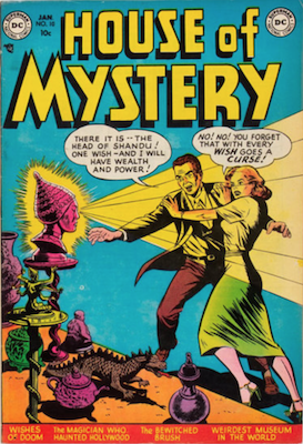 House of Mystery #10. Click for current values.
