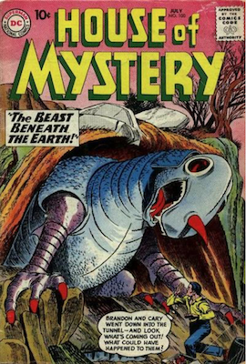 House of Mystery #100. Click for current values.