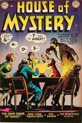 House of Mystery #11. Click for current values.