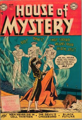 House of Mystery #12. Click for current values.