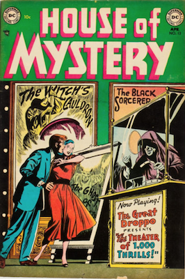 House of Mystery #13. Click for current values.