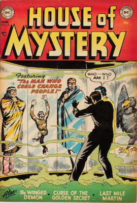 House of Mystery #15. Click for current values.