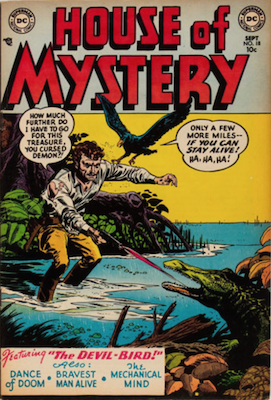 House of Mystery #18. Click for current values.