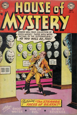 House of Mystery #19. Click for current values.