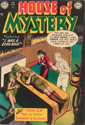House of Mystery #2. Click for current values.