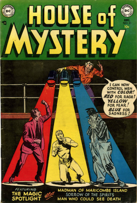 House of Mystery #21. Click for current values.